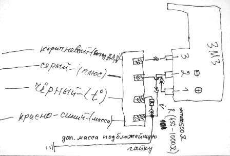 Вот переделка датчика давления и температуры впускного воздуха.  Готовый вариант. схема.  ИгорьБ писал(а). А это...