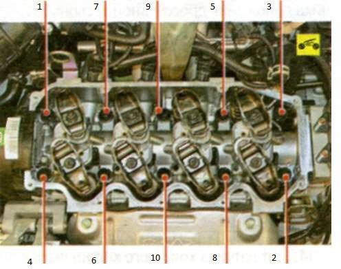 Фото №5 - момент затяжки болтов гбц 2110