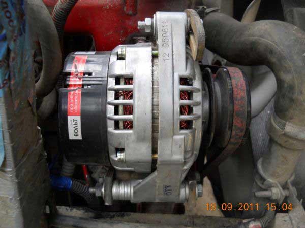 Фото №2 - генератор от ВАЗ 2110 на ВАЗ 2107