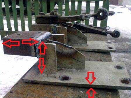 Как сделать плавающую кабину на камаз своими руками 96