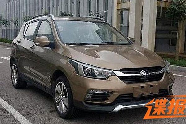 На трассах Китая была замечена обновленная модель FAW D60