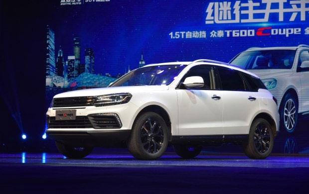 В «Поднебесной» начались продажи Zotye T600 Coupe