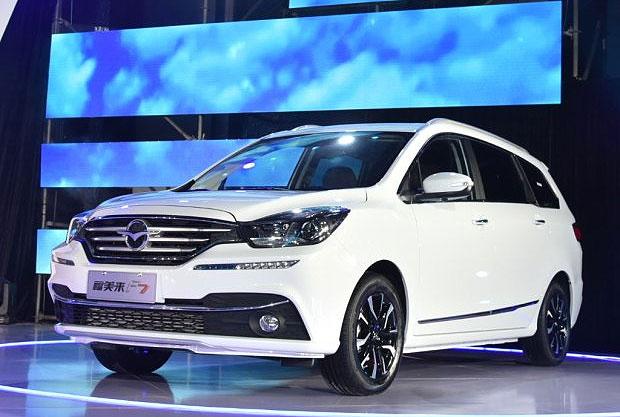 На рынке КНР появился новый минивэн Haima Family F7