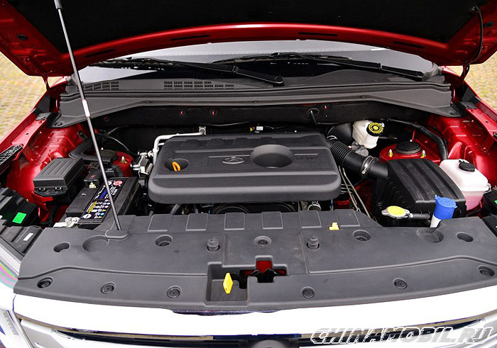 Changan Cx70 Chassis And Engine