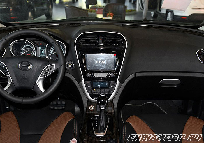Gs Auto Sales >> GAC Trumpchi GS5 Sport - Interior photos of.