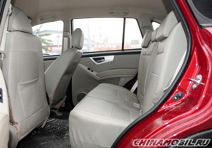 Lifan X60 Interior