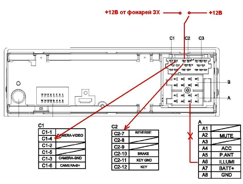 """На верхней фотке разъёмы ISO под штатную  """"балалайку """" на Ховер Н3 суперлюкс с Аксиомовским салоном, или МН DNB405."""
